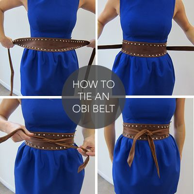 How to tie an obi belt Clothing, Shoes & Jewelry - Women - women's belts - http://amzn.to/2kwF6LI