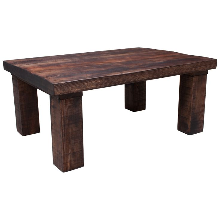 Find This Pin And More On Coffee Tables New Handmade Rustic Solid Wooden