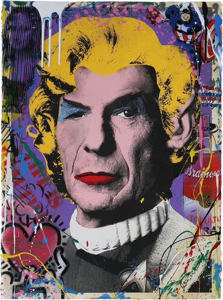 MR. BRAINWASH - SPOCK (VARIANT NO. 2) - ADDICTED ART GALLERY http://www.widewalls.ch/artwork/mr-brainwash/spock-variant-no-2/  #MixedMedia