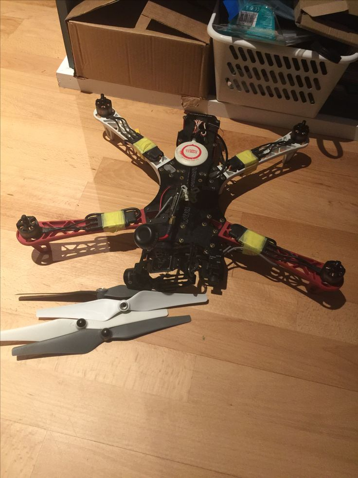 Team Blacksheep Discovery Pro quad drone.