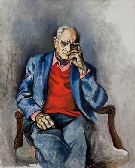 Reanto Guttuso  Alberto Moravia