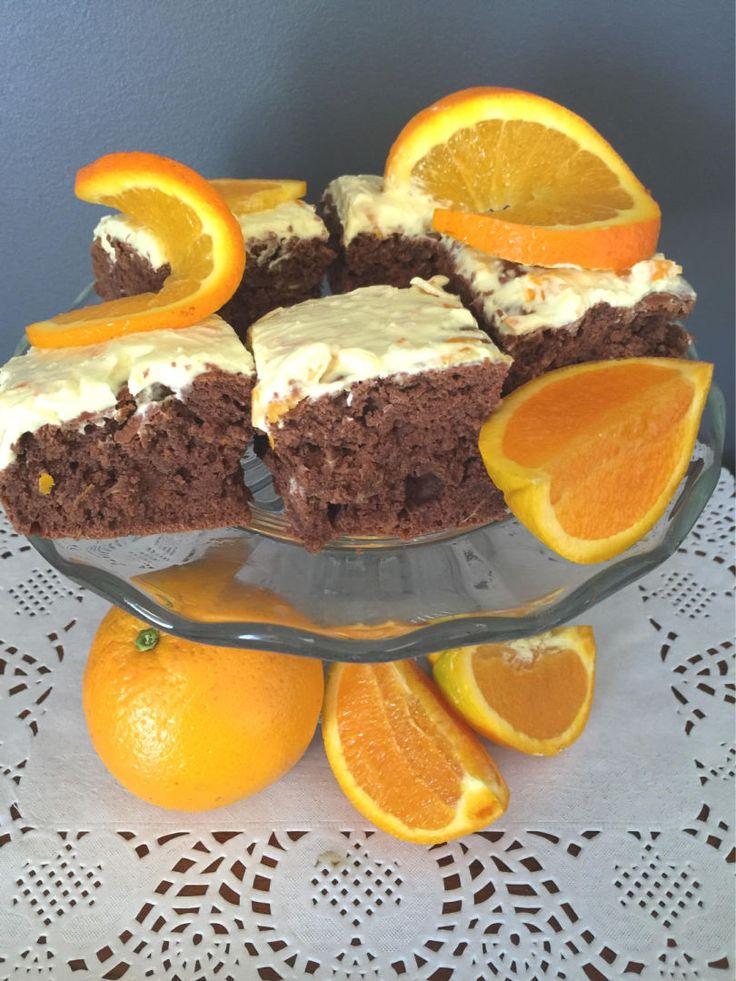 Danielle's Healthy Jaffa Cake