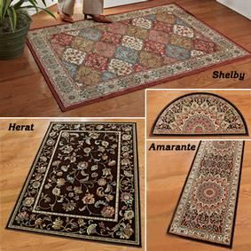 Low Profile Rugs @ Fresh Finds