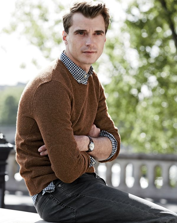 Clément Chabernaud + Claudio Monteiro Model Smart Fashions for J.Crew's September 2015 Style Guide