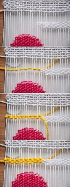 How to Weave in New Thread   The Weaving Loom