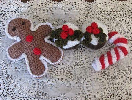 Christmas Play Food Set