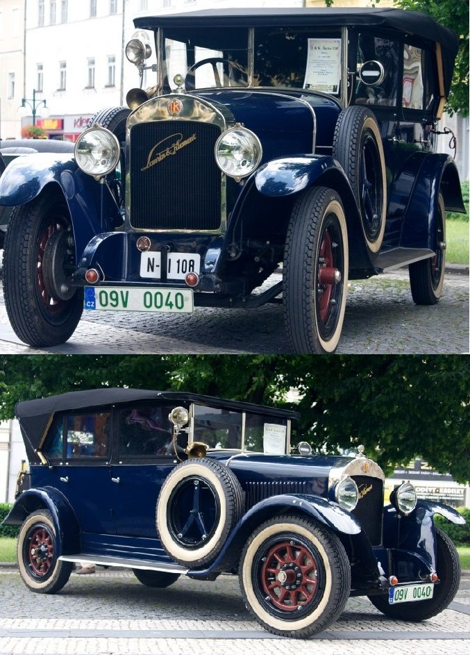 Laurin & Klement 1925 Škoda 110 Phaeton More