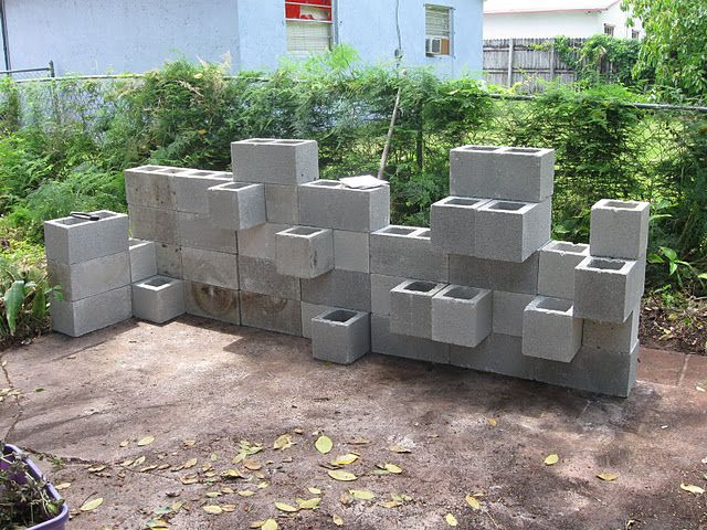 234 best Block Wall Fence images on Pinterest