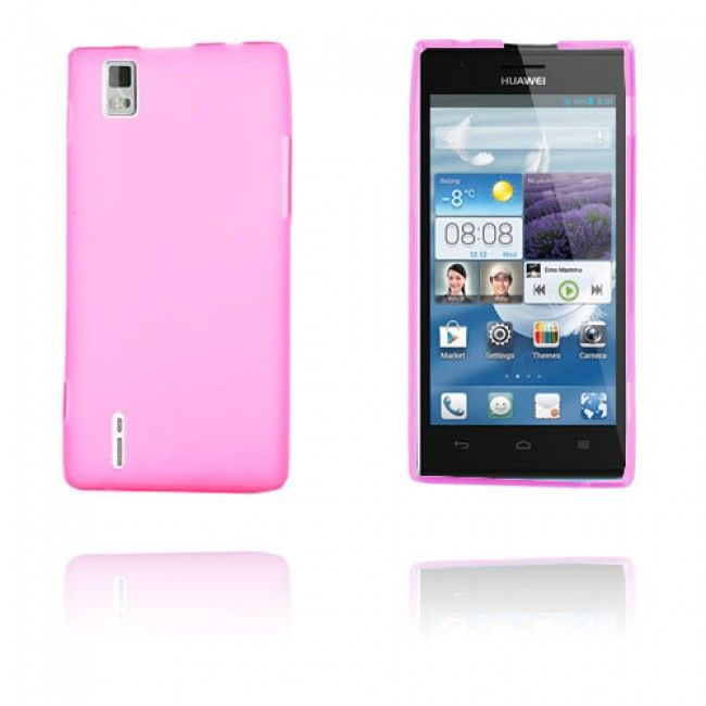 GelCase (Voimakas Pinkki) Huawei Ascend P2 Suojakuori - http://lux-case.fi/gelcase-voimakas-pinkki-huawei-ascend-p2-suojakuori.html