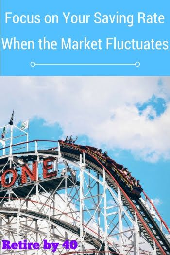 Focus on Your Saving Rate When the Market Fluctuates