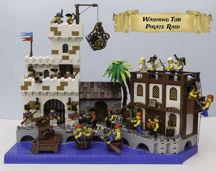 Washing Tub Pirates #1 | by LegoFjotten