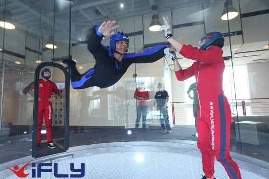 iFLY Indoor Skydiving, Austin Texas: iFLY Austin - Indoor Skydiving - Fun for All Ages.  No Experience Necessary-Maybe this will help hubby get up the nerve to Sky Dive.