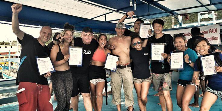 PADI Dive Instructor Internship - Crystal Dive Koh Tao