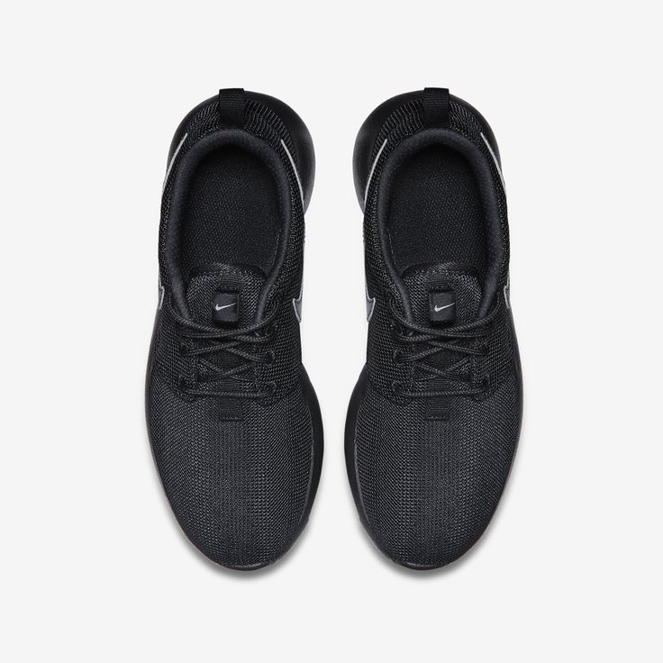 Nike Roshe One Youth Gs chaussures enfants noir argent