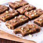 Snickers Fudge Brownies