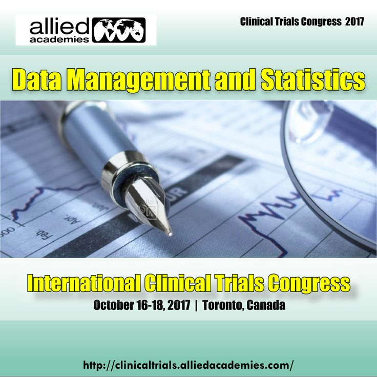 Data Management and Statistics Clinical data management is the process of collection, cleaning, integration and management of subject data in compliance with regulatory standards. It is a critical phase in #clinicalresearch, which leads to generation of high-quality, reliable, and statistically sound data from clinical trials, this has been facilitated by the use of software applications that maintain an audit trail..