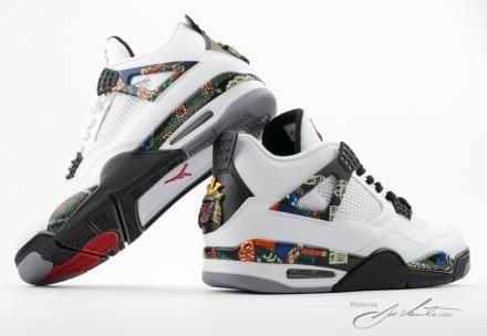 "NIKE AIR JORDAN IV ""SAMURAI"" CUSTOMS BY EL CAPPY #sneaker"