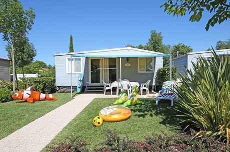 Mobilhome Exclusive Trendy - located @Camping San Francesco bij het Gardameer