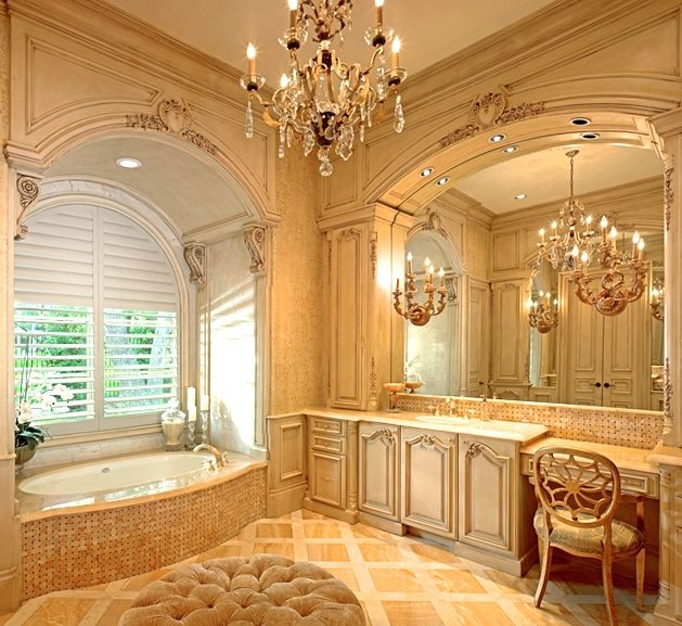 215 best images about master bath on pinterest vanities for Romantic master bathroom