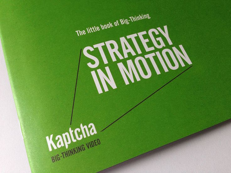 Beautiful 20 page client leave-behind to complement Kaptcha's new business presentation. Also designed by _AndWebb.