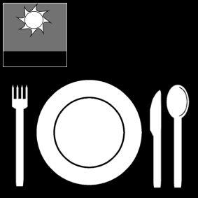middagmaal middageten pictogram pictogrammen symbolen
