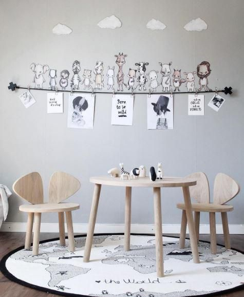The whole savannah gang, with five fun animals these wall stickers will add a quirky touch to a nursery or child's bedroom. The best wall stickers we've ever