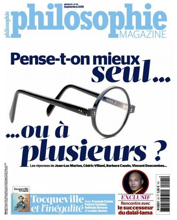 #philosophie magazine #cover #magazine design #layout #graphic design