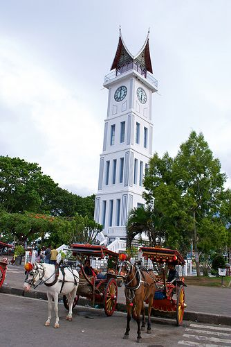 Jam Gadang, Bukittinggi, West Sumatra, Indonesia.