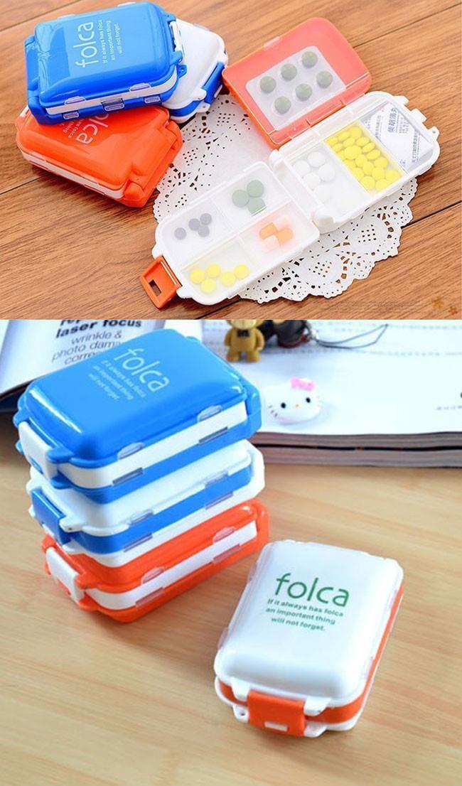 Aliexpress.com: Keres 1 db Összecsukható vitamin Medicine Kábítószer Pill Box Smink Storage Case Container Ingyenes házhozszállítás # ZH065 megbízható tartály tárolja el a szállítási dobozok szállítók Fashion Cipők és táskák | Alibaba Group