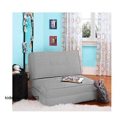 Teen Bedroom Chairs Foldable Futons Sleeper Reading Lounger Sofa Seat Guest  Beds
