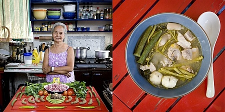 Бабушки на кухне