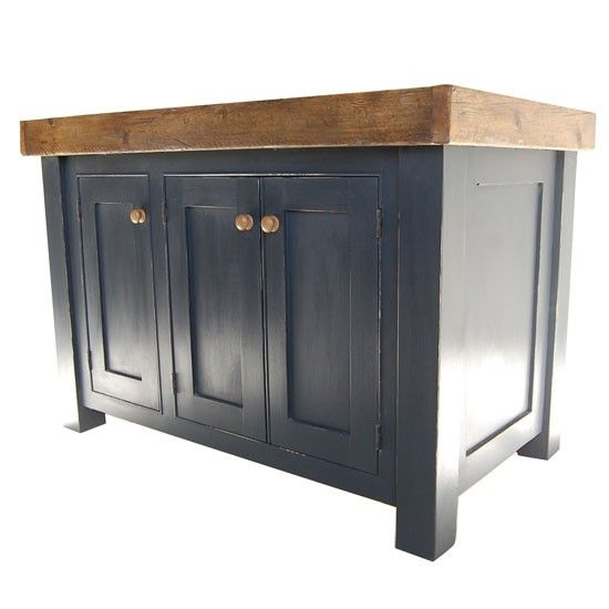 Bastide oak kitchen unit from Fired Earth | Freestanding kitchen units | housetohome.co.uk