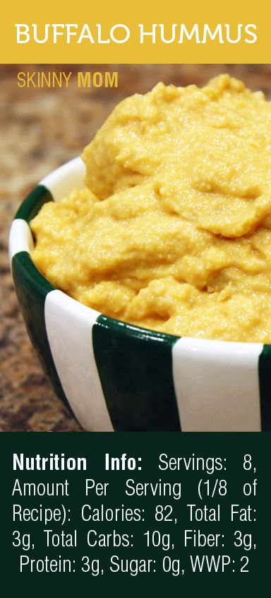 Impress your guests with this delicious Skinny Buffalo Wing Hummus! At ...