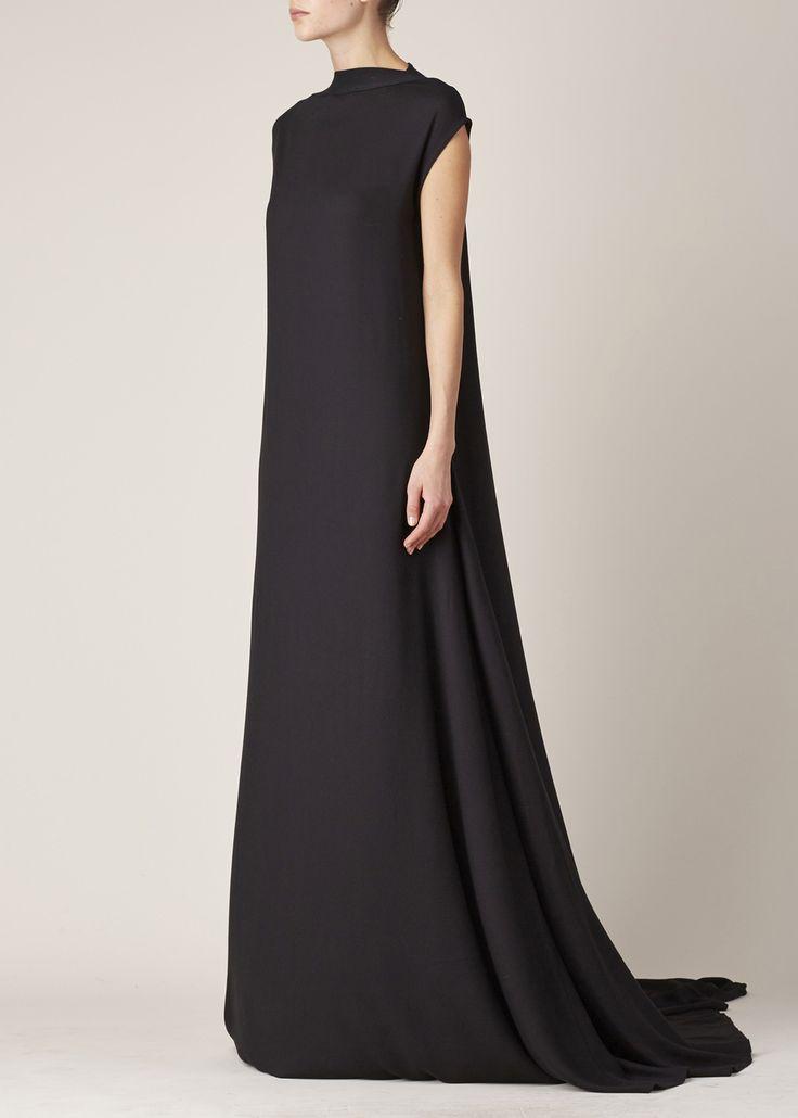 Ann Demeulemeester Infinity Dress (Black) / wealthy widow vibes