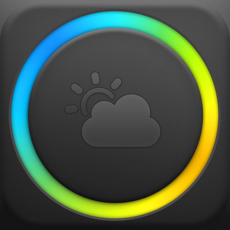 ASCII.jp:iPhoneらしいオシャレさ満点の天気アプリ『Partly Cloudy』|富士見iPhoneクラブ