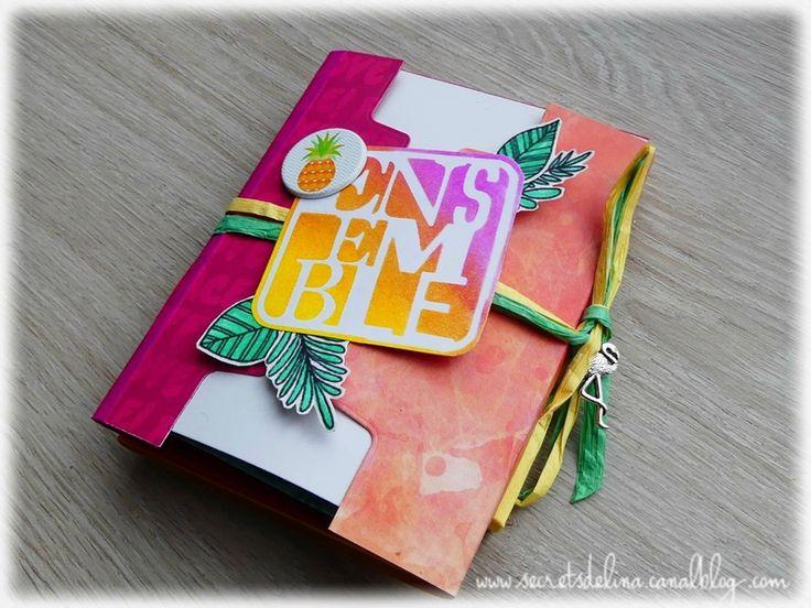 Flipbook été #ete #summer #ananas #pineapple #scrapbooking #flipbook