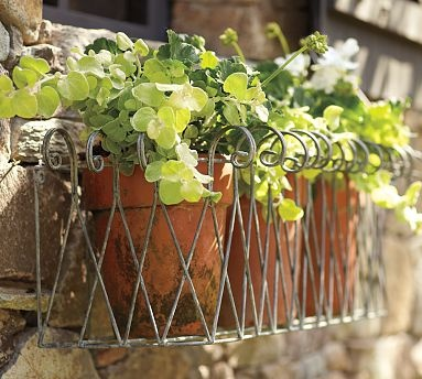 This would be cute for the bare window box by the kitchen! problem solved!