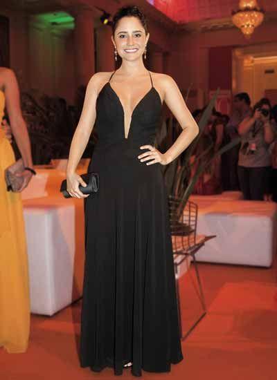 Vestido longo dafiti joy preto