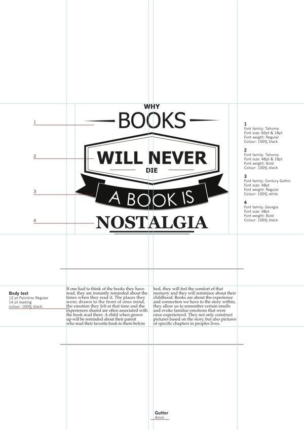 ISTD - Books Still? by Tj van Rensburg, via Behance