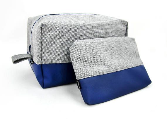 Hey, I found this really awesome Etsy listing at https://www.etsy.com/listing/530103097/large-toiletry-bag-and-navy-make-up-bag