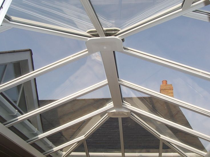 Edwardian Conservatories inside roof. http://www.finesse-windows.co.uk/conservatories.php