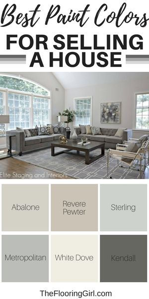 Best paint colors to sell a house