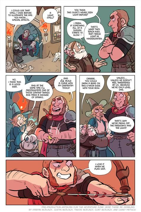 The Adventure Zoneis one of our favorite podcasts.There's nothing quite like listening to a family playing some Dungeons & Dragons together. It's fun, funny, and instantlymemorablefor anybody who grew up rolling some dice with their friends and loved ones. We're very excited to announce that our friends at First Second Books are releasing a graphic novel based on the quests of The Adventure Zone podcast. The Adventure Zone: Here There Be Gerblins by brothers Griffin McElr...