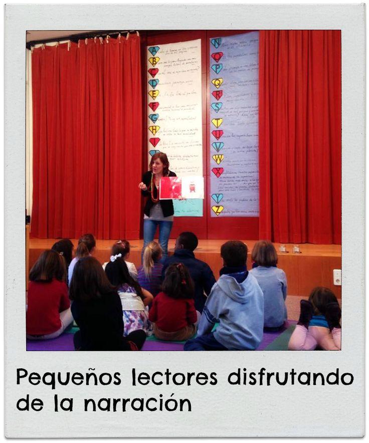 Sábados de cuento: Monstruo de colores. Biblioteca Manuel Alvar (Zaragoza).