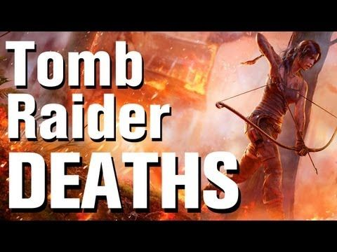 ▶ Tomb Raider Death Montage - YouTube - is the game too violent?
