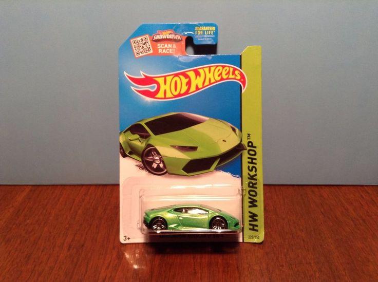 Hot Wheels Lamborghini Huracan LP 610-4 #222 of 250 HW Garage 2015 Green #HotWheels #Lamborghini