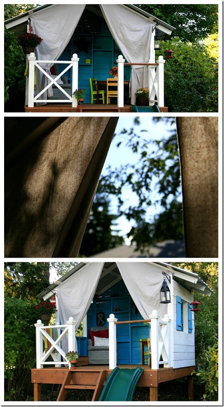 tree fort to die for. I want this for the boys!!