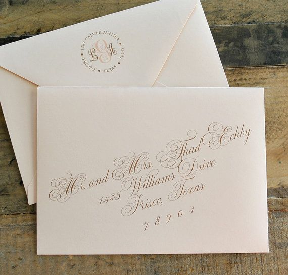 The 25 best envelope address printing ideas on pinterest digital calligraphy and custom envelope address by lvandy27 stopboris Image collections