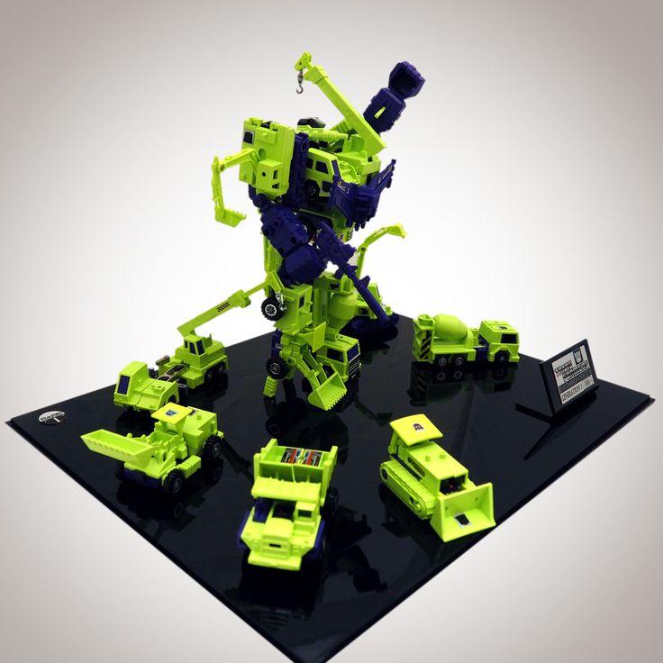 1984 12X Transformers // Devastator