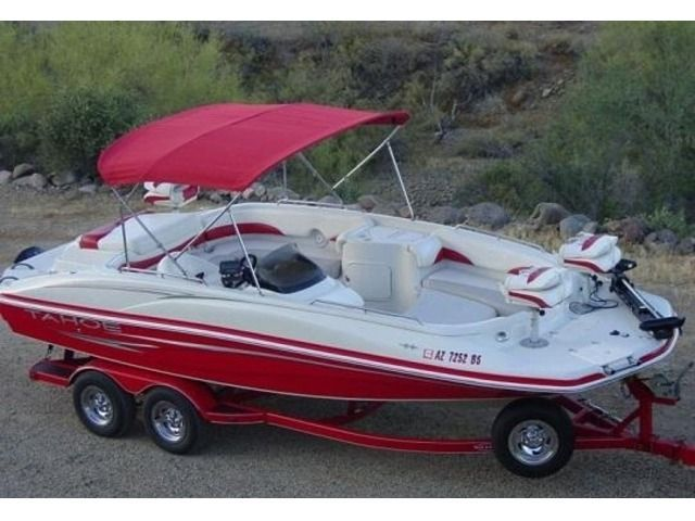 Boats - Ships - 2007 Tahoe 215 Fish and Ski Deck Boat. It only has 143 hours on it. 5.0 Mercruiser V8 engine, 215HP. Delivery available...., Beaver City - Nebraska #motorboatonlake